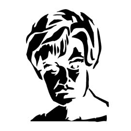 American Horror Story - Constance Langdon Stencil