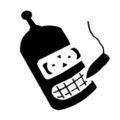 Futurama - Bender Stencil