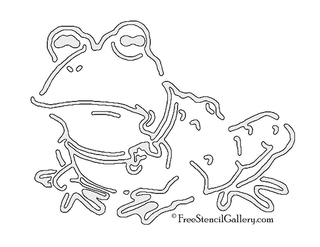 Futurama - Hypnotoad Stencil