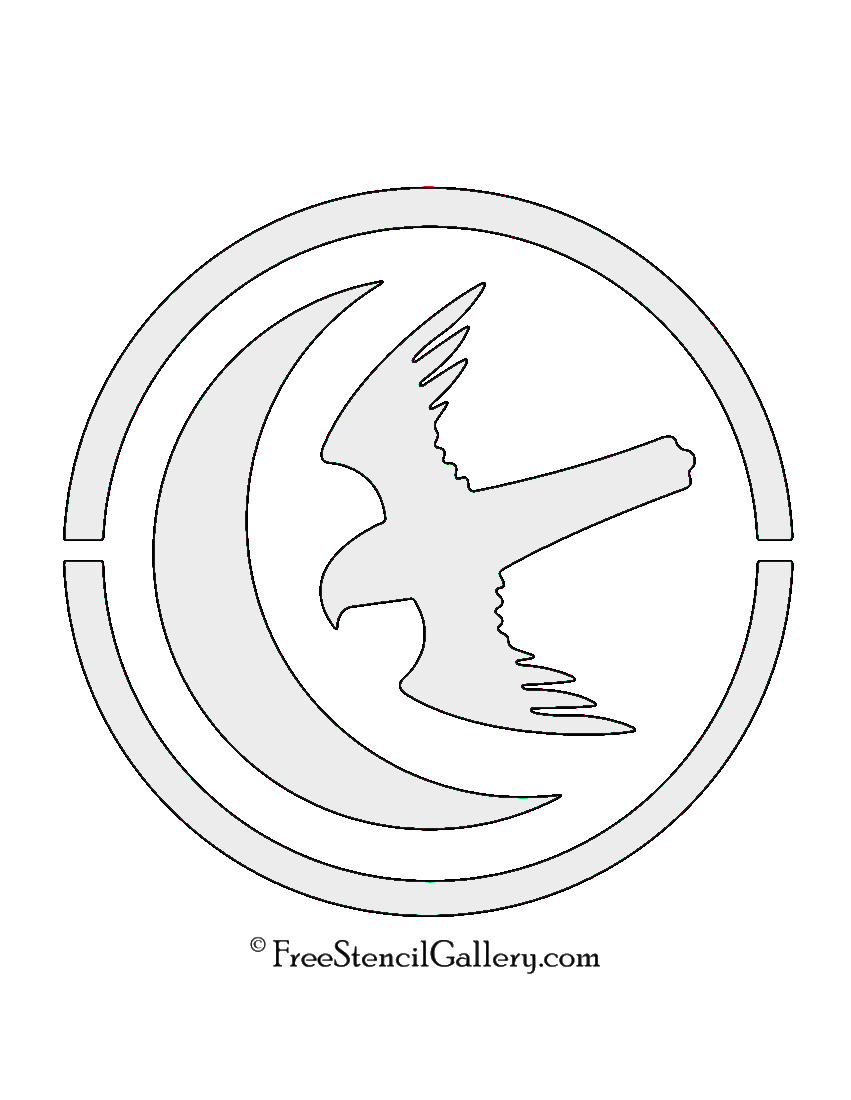 Game of thrones house arryn sigil stencil free stencil gallery game of thrones house arryn sigil stencil biocorpaavc