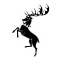 Game of Thrones - House Baratheon Sigil Stencil