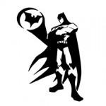 Batman Stencil 02