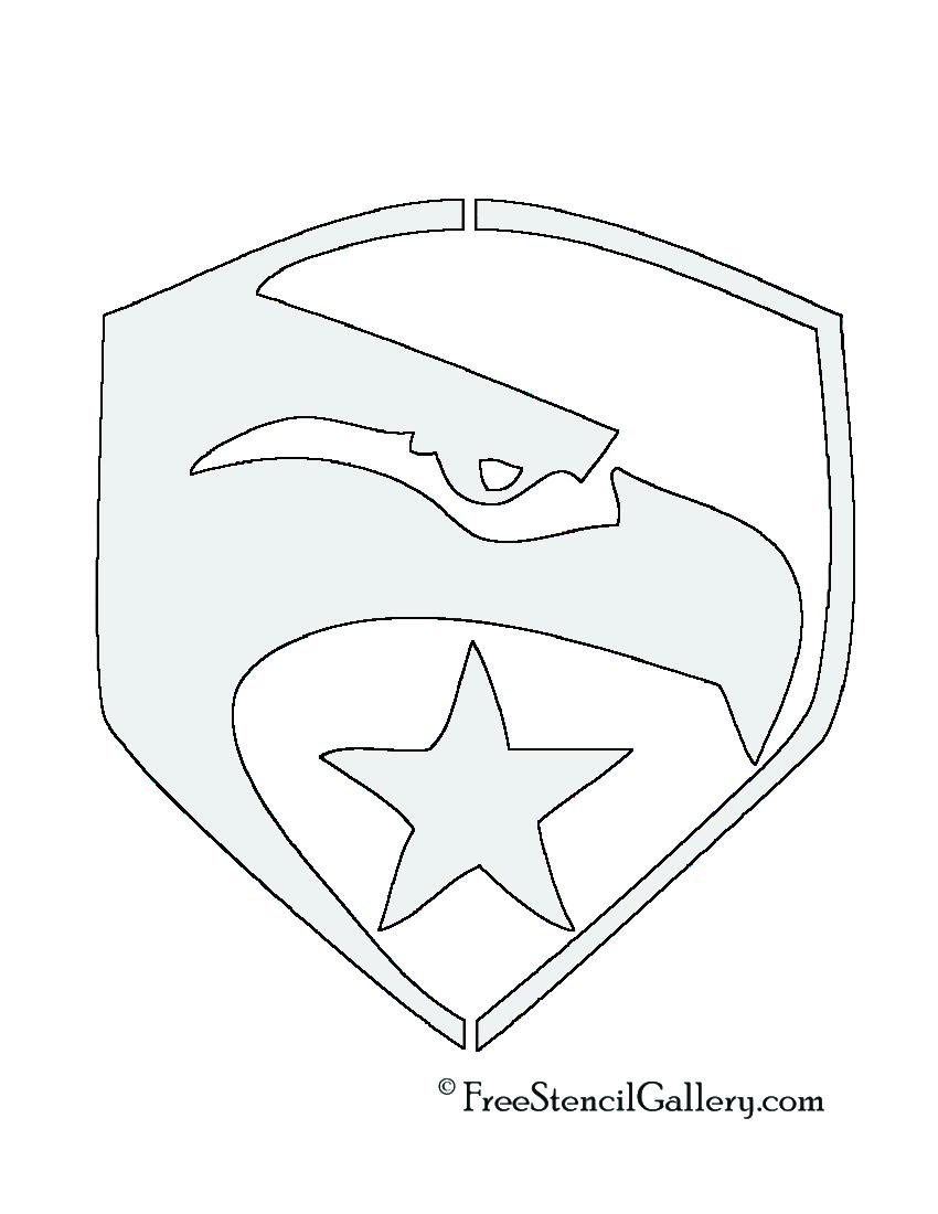 GI Joe Logo Stencil