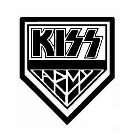 Kiss Army Stencil