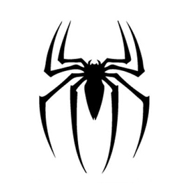 Spiderman symbol stencil free stencil gallery voltagebd Image collections