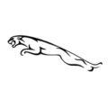 Jaguar Logo Stencil