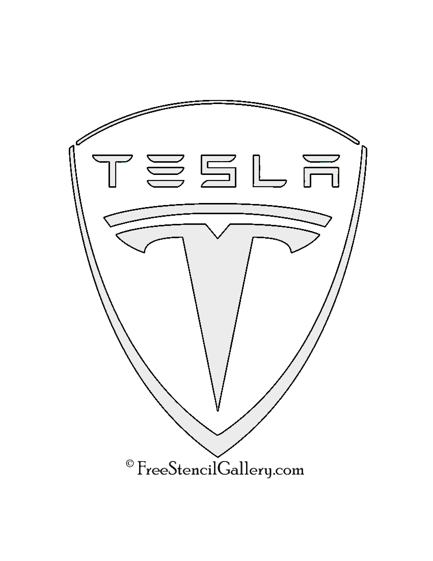 Tesla Car Coloring Pages : Coloring tesla roadster sketch page