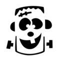 Frankenstein Monster Stencil