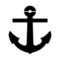 Boat Anchor Stencil