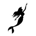 The Little Mermaid - Ariel Stencil 03