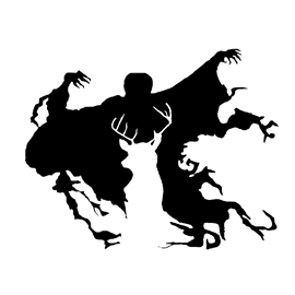 Harry potter dementor patronus stencil free stencil gallery for Harry potter pumpkin carving templates