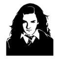 Hermione Granger Stencil