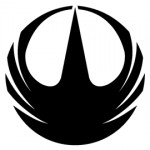 Star Wars Rogue One Symbol Stencil