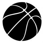 Basketball Stencil