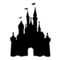 Disney Castle Stencil