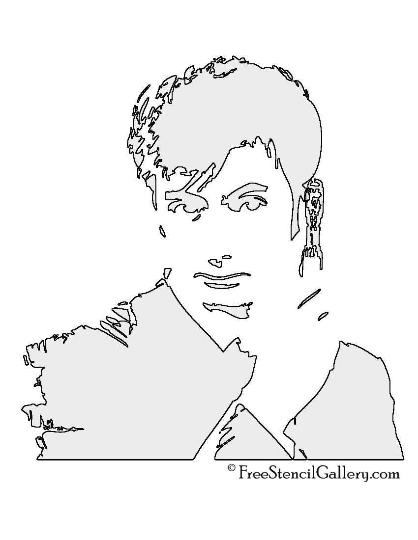 Doctor Who Stencil Printable - Worksheet & Coloring Pages