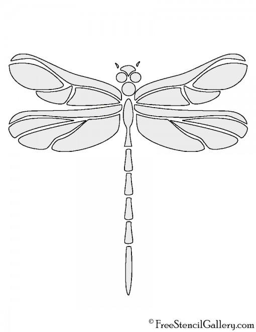 Dragonfly Stencil | Free Stencil Gallery