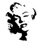 Marilyn Monroe 02 Stencil