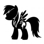 My Little Pony - Rainbow Dash Stencil