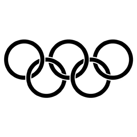 Olympic Rings Stencil | Free Stencil Gallery