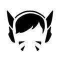 Overwatch - D Va Stencil