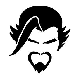 Overwatch Hanzo Stencil Free Stencil Gallery