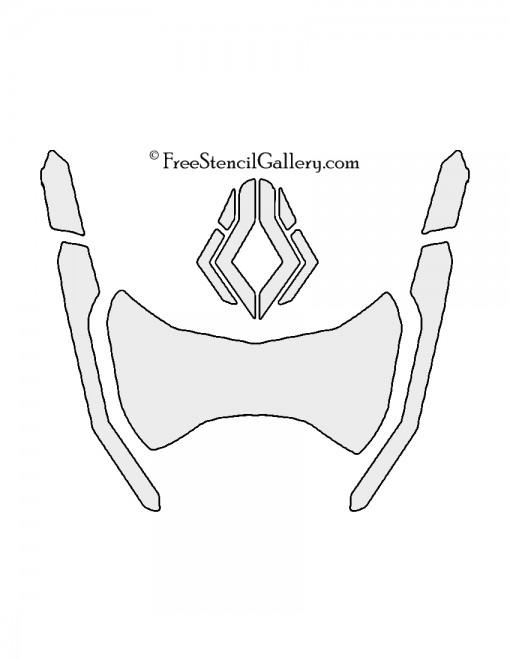 Overwatch - Symmetra Stencil