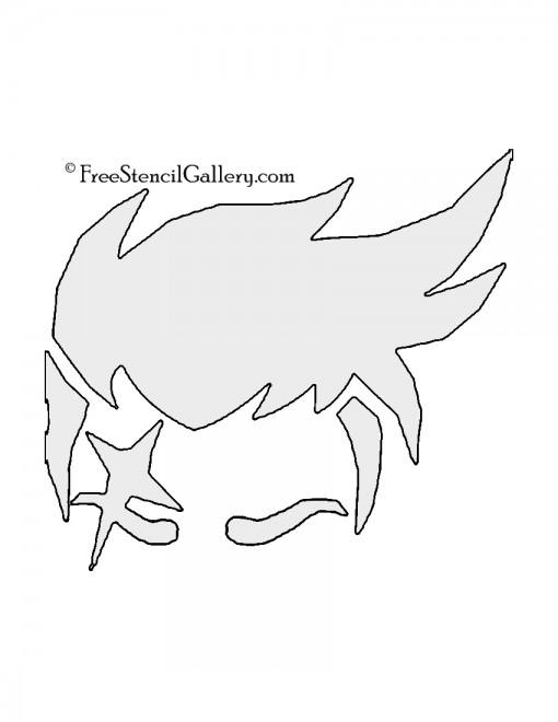 Overwatch - Zarya Stencil