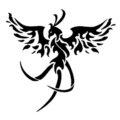 Phoenix Stencil