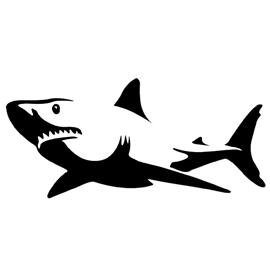 Shark Stencil Free Stencil Gallery