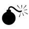 Bomb 02 Stencil