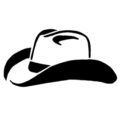 Cowboy Hat Stencil