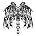 Demon Stencil
