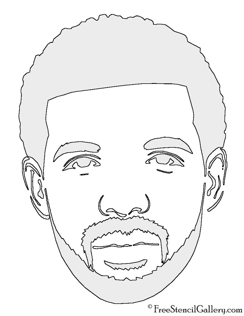 Drake Stencil Black An...