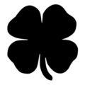 Four Leaf Clover Stencil