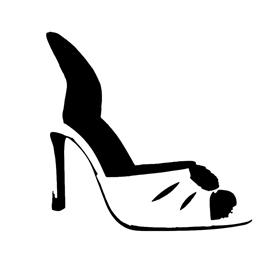 high heel shoe stencil free stencil gallery