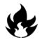 Pokemon - Fire Type Symbol Stencil