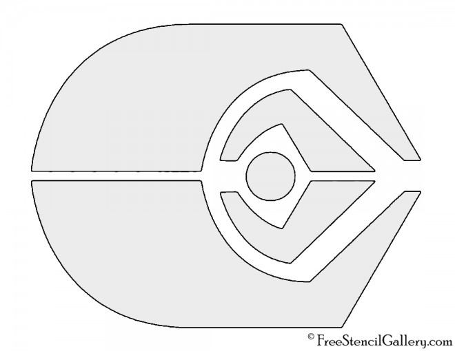 Star Trek - Ferengi  Alliance Insignia Stencil