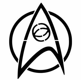 Klingon Symbol Star Trek - Scie...