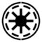 Star Wars - Galactic Republic Symbol Stencil
