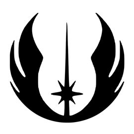 Jedi Knight Symbol Tattoo Star Wars - Jedi Order...