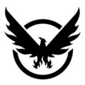 The Division Logo Stencil