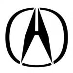Acura Logo Stencil