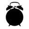 Alarm Clock Stencil