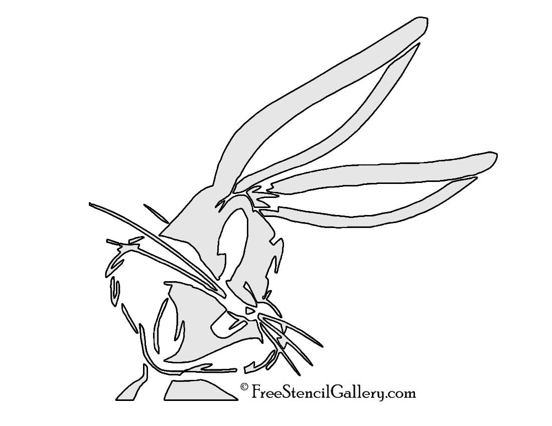 Bugs bunny stencil free gallery