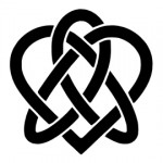 Celtic Knot - Heart Stencil