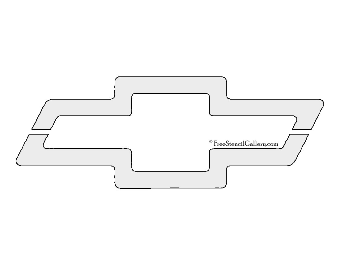 Chevy Emblem Coloring Pages