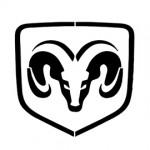 Dodge Logo Stencil