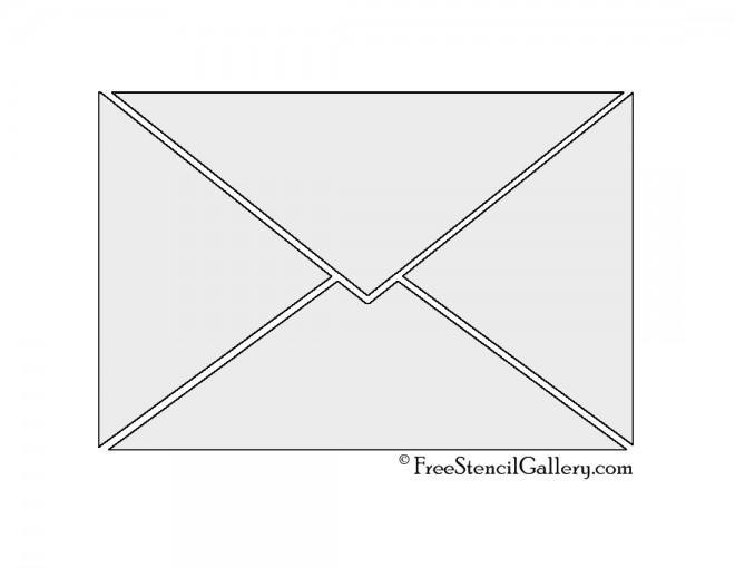 Envelope Stencil