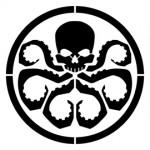 Hydra Logo Stencil